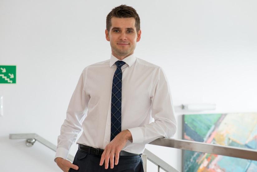 Rafał Piszczek, właściciel sieci haloDoctor